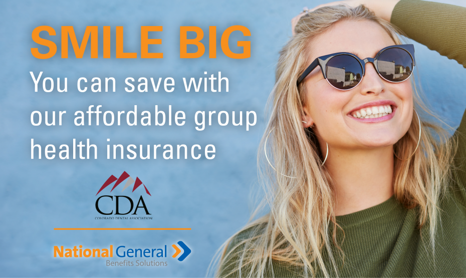 New CDA Member Benefit: Group Health Insurance - Colorado ...